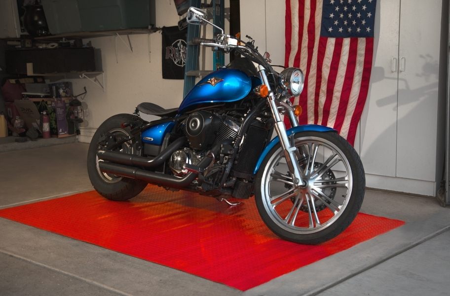 Diamond Nitro Roll - Motorcycle Mats