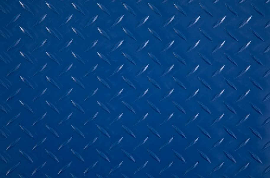 Diamond Nitro - Motorcycle Mats - Blue