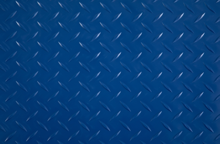 Diamond Nitro - Motorcycle Mats - Blue