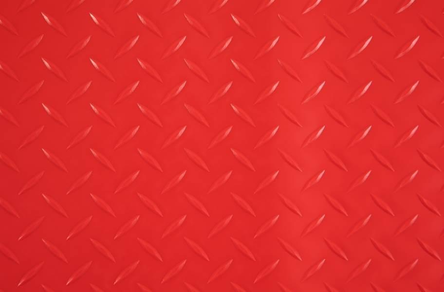 Diamond Nitro - Motorcycle Mats - Red