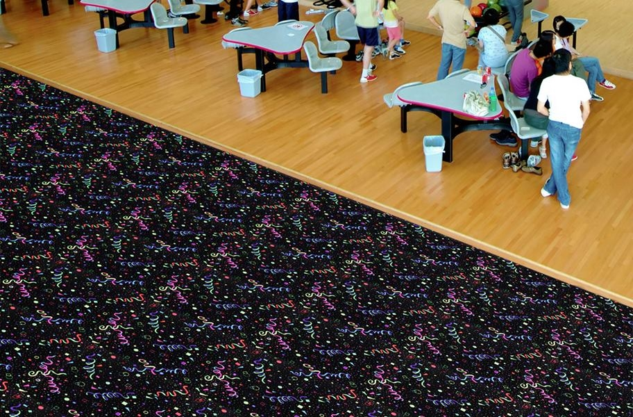 Joy Carpets Neon Lights Carpet - Celebration