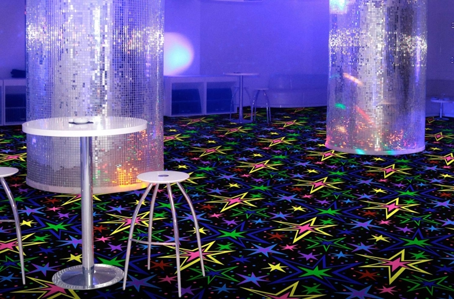 Joy Carpets Neon Lights Carpet - Kapow