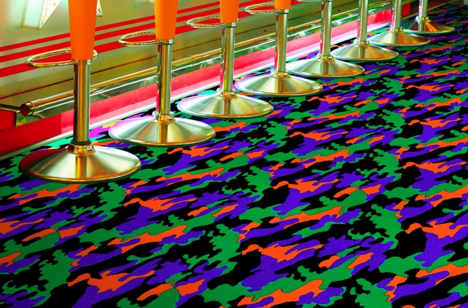 Joy Carpets Neon Lights Carpet - Thriller