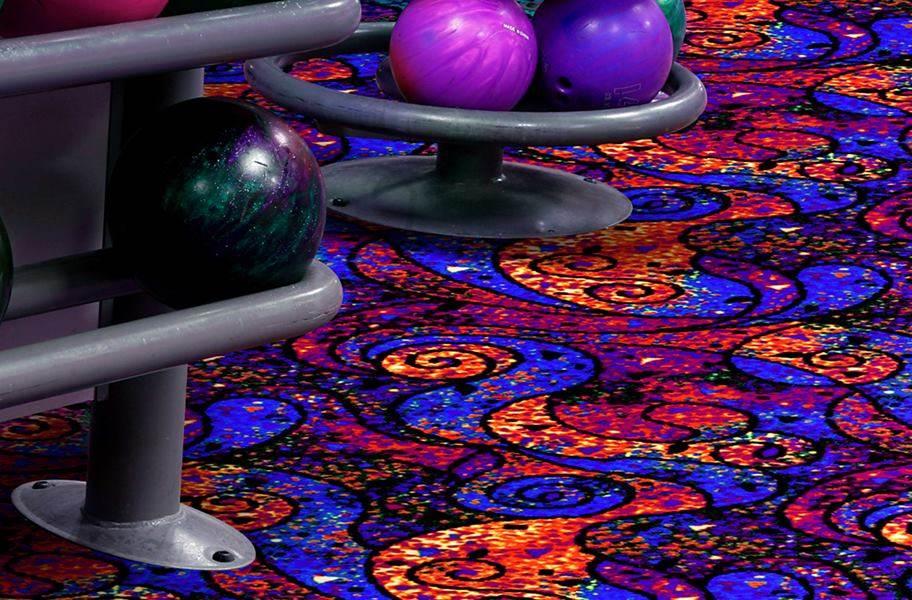 Joy Carpets Neon Lights Carpet - Lava