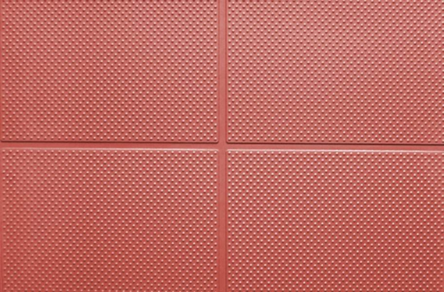 "9/16"" Aerobic Lock Virgin Rubber Tiles - Terracotta"