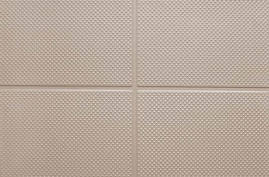 "9/16"" Aerobic Lock Virgin Rubber Tiles - Khaki"