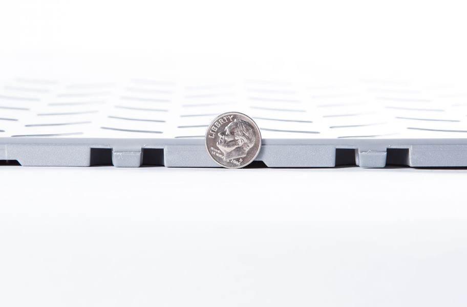 Coin Nitro Tile - Motorcycle Mats