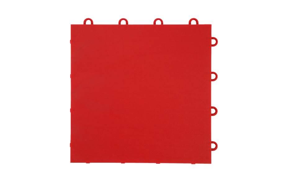 Indoor Court Tiles - Victory Red