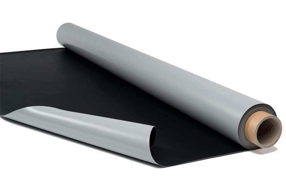 Rosco Dance Floor Rolls - Full Roll - Black/Grey