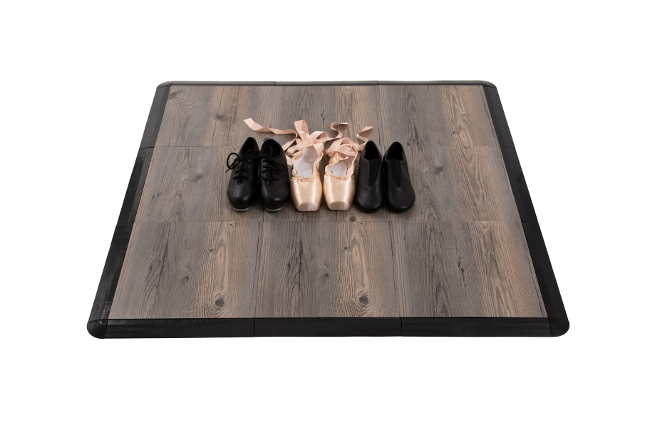 Practice Dance Tile Kits - Barnwood 3x3