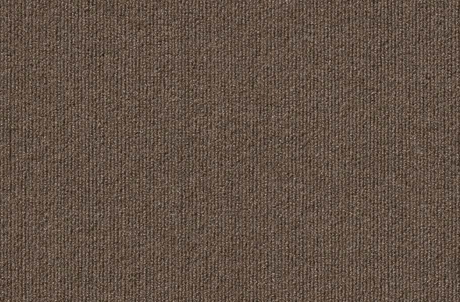 Ribbed Carpet Tile - Designer - Espresso