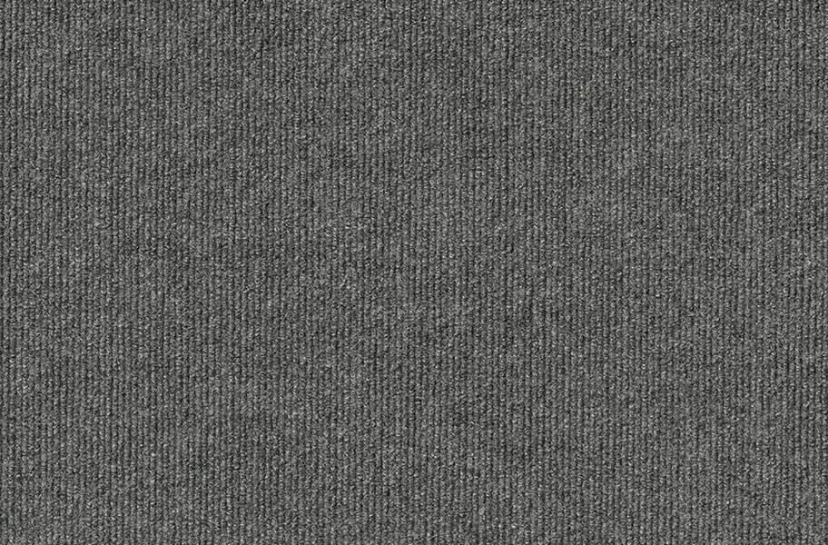 Ribbed Carpet Tile - Designer - Sky Grey
