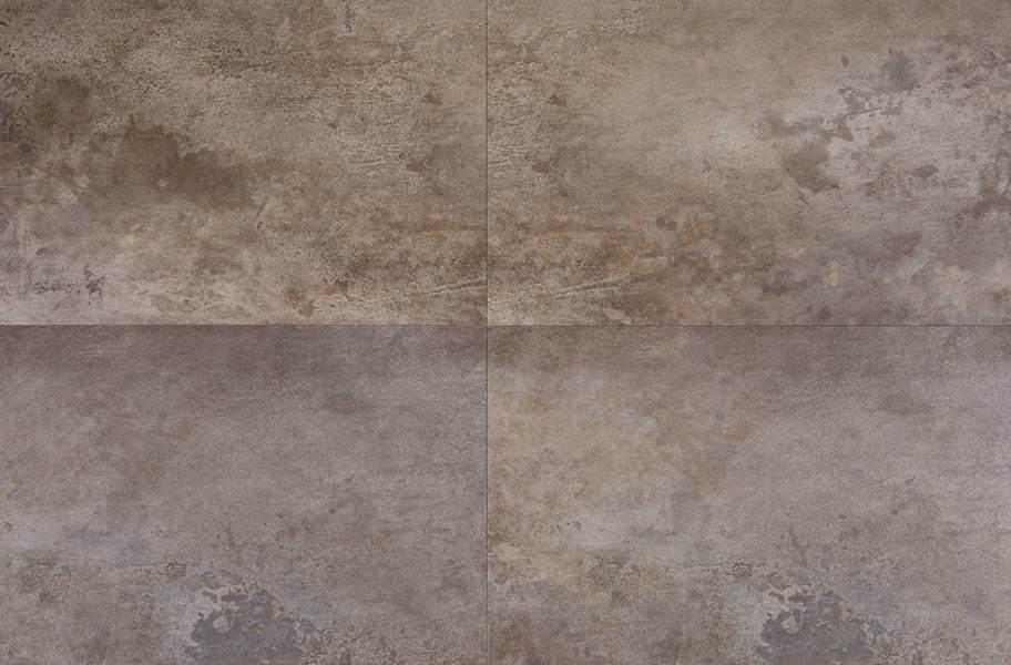 Velocity Rigid Core Vinyl Tiles - Inspired Gray