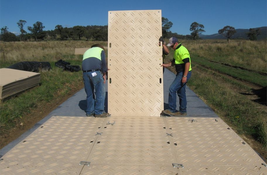 DuraDeck Ground Protection Mats
