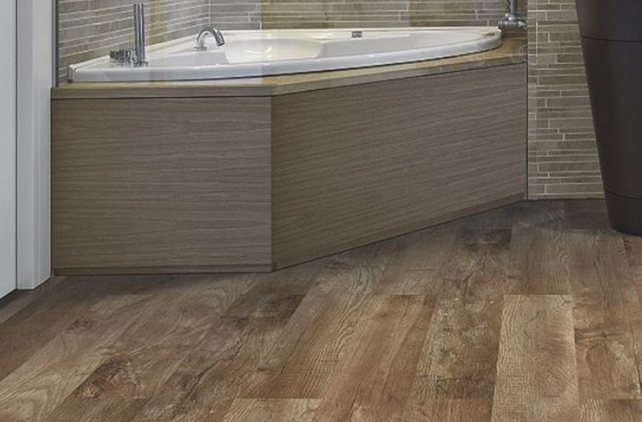 Mohawk Woodlands Vinyl Planks - Buckskin Oak