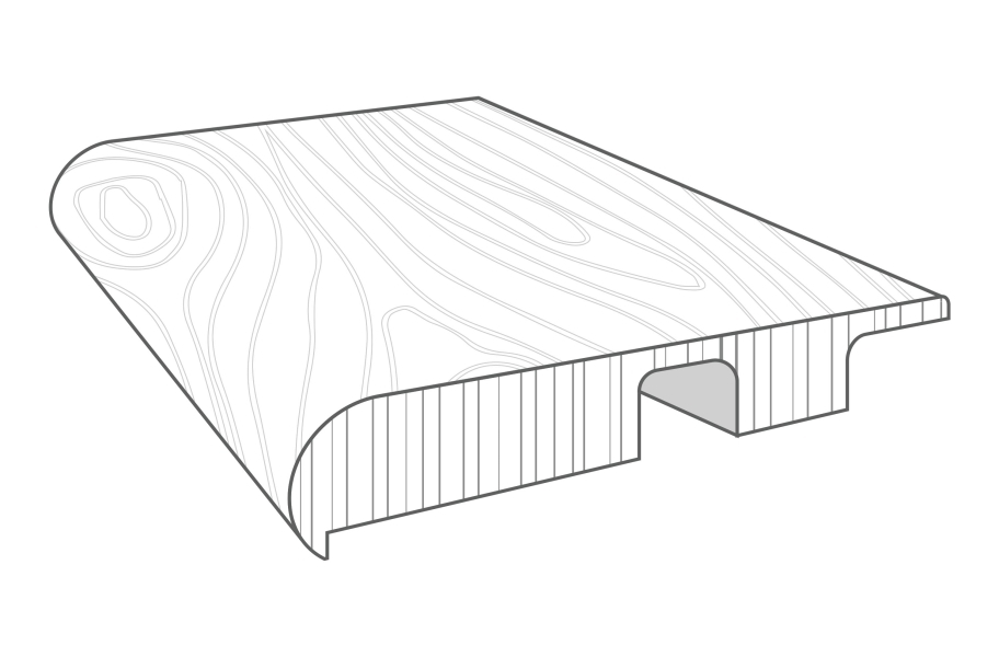 """Windwood 3/4"""" x 2"""" x 94"""" Stair Nose"""