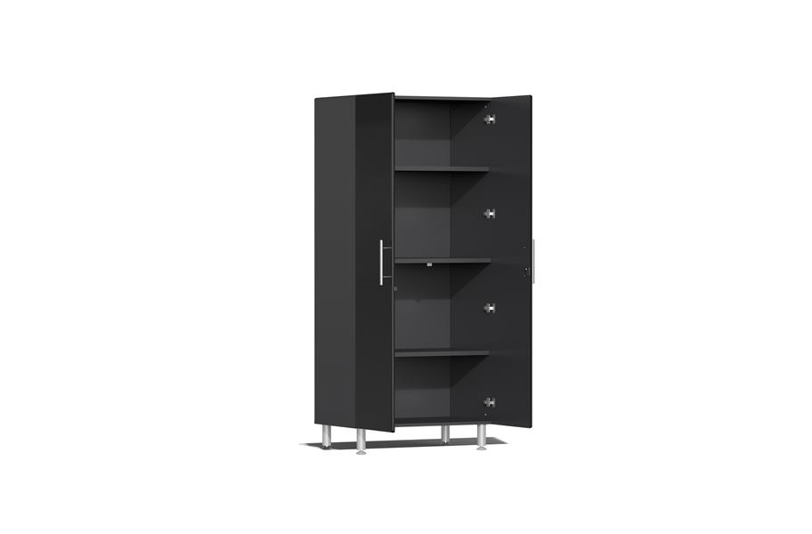 Ulti-MATE Garage 2.0 Series 7-PC Tall Cabinet Kit - Midnight Black Metallic