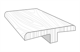 """Imperial 1/2"""" x 2"""" x 94"""" T-Molding"""