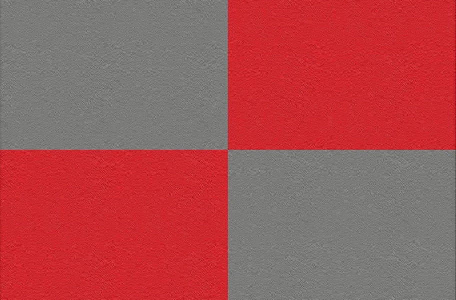 Soda Shoppe Flex Tiles - Light Gray and Red