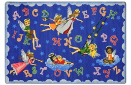 Joy Carpets Angel Alphabet Kids Rug