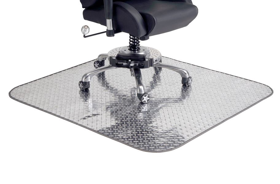 PitStop Diamond Plate Chair Mat