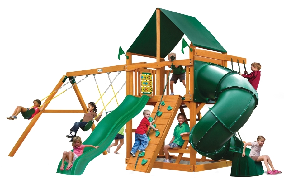 Mountaineer Playset - Canvas Forest Green Canopy