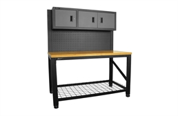 "Homak 3-Door 59"" Workstation"