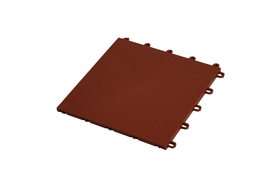 Premium Indoor Sports Tiles - Chocolate