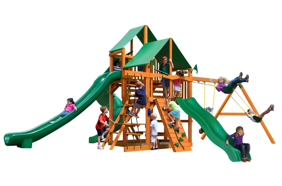 Great Skye II Playhouse - Deluxe Green Canopy