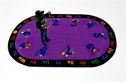 Counting Hands Kids Rug