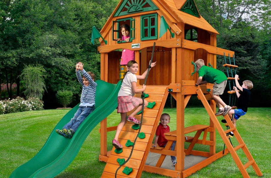 Chateau Tower Playset - Treehouse and Fort Add-on
