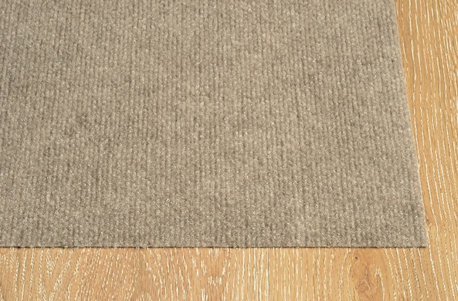 Ribbed Taupe Indoor/Outdoor Area Rug