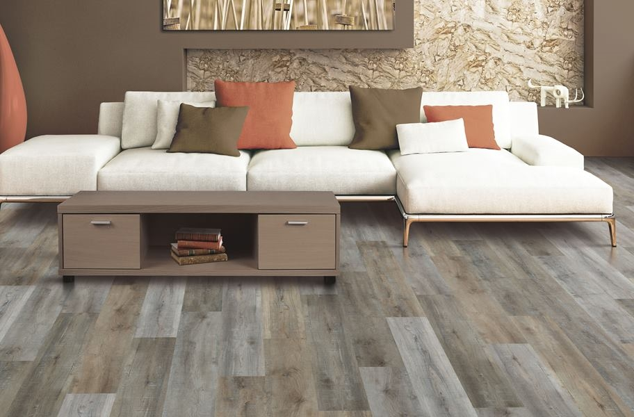 Mohawk Variations Waterproof Vinyl Planks - Silver Shadow