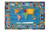 Joy Carpets Hands Around the World Kids Rug