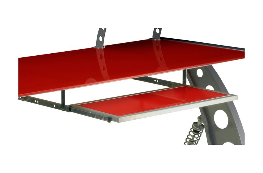 PitStop GT Spoiler Desk Pull Out Tray - Red