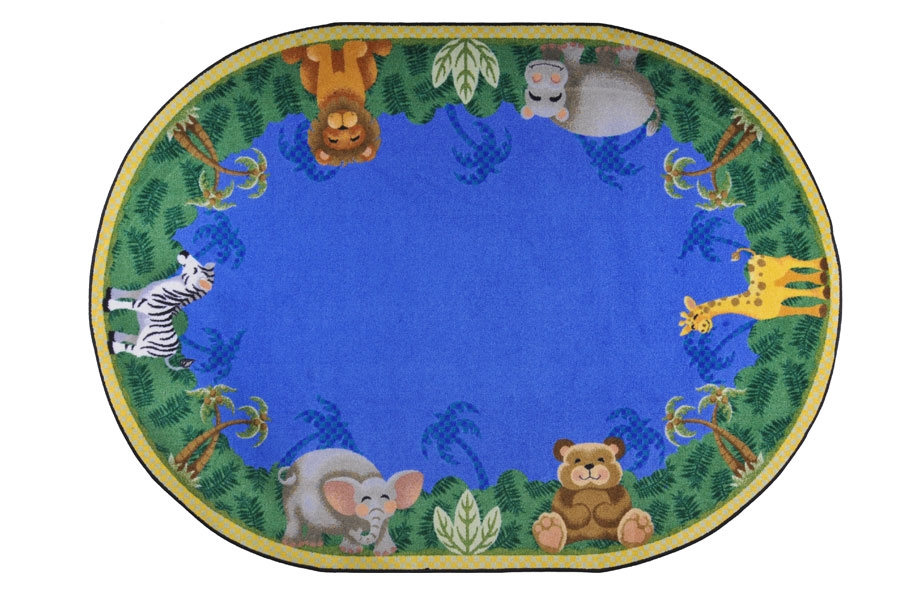 Joy Carpets Jungle Friends Kids Rug