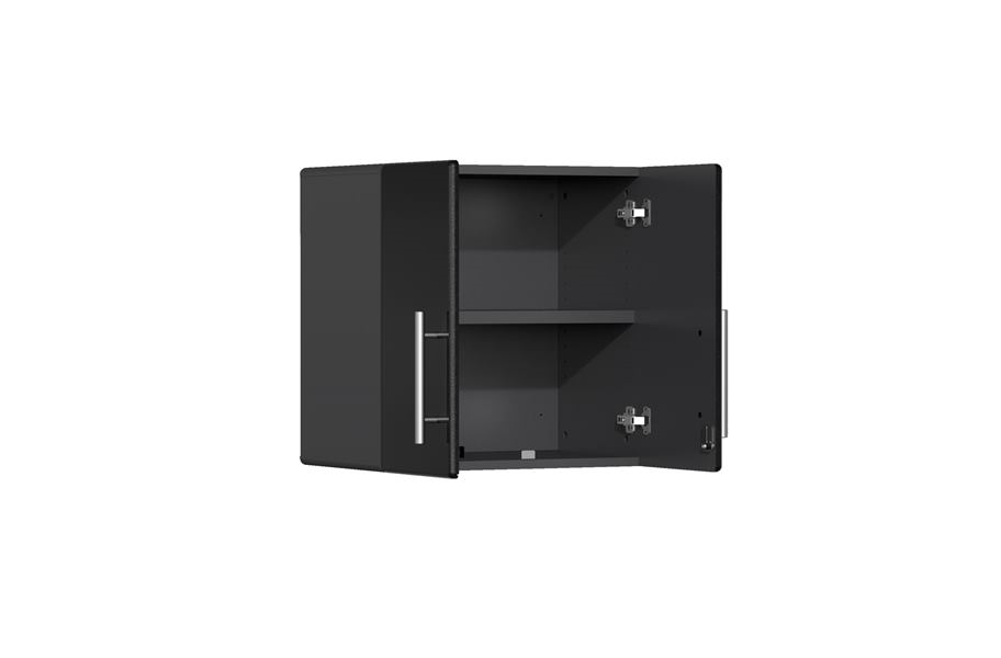 Ulti-MATE Garage 2.0 3-Piece Wall Cabinet Kit - Midnight Black Metallic