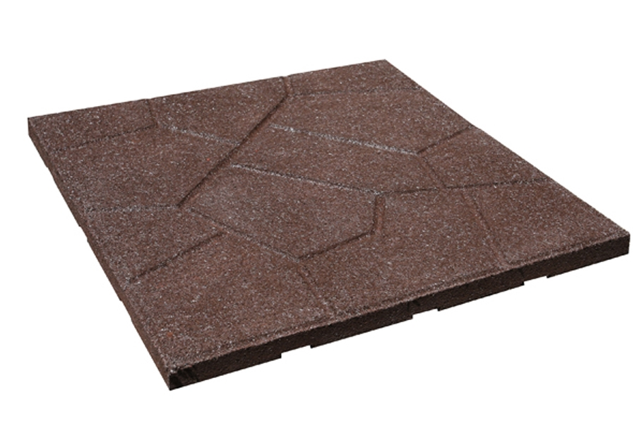 Flagstone Rubber Paver - Remnants