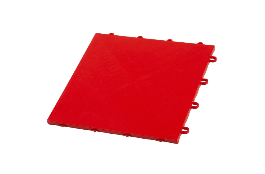 Indoor Sports Tiles - Victory Red