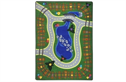 Joy Carpets Alphabet Express Kids Rug