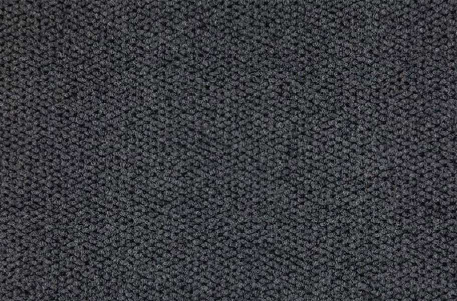 Premium Hobnail Carpet Tiles - Black Ice