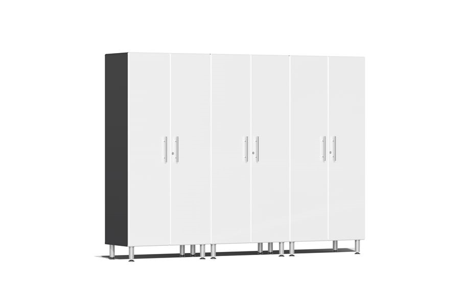 Ulti-MATE Garage 2.0 Series 3-PC Tall Cabinet Kit - Starfire White Metallic