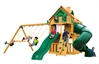 Mountaineer Clubhouse - Mountaineer Clubhouse Treehouse with Fort add-on