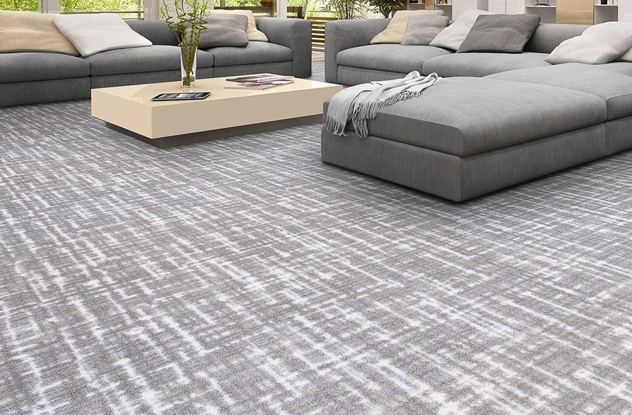 Joy Carpets Past Tense Carpet - Cloudy