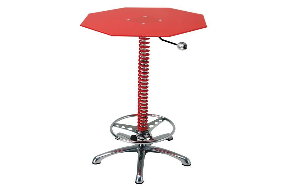 PitStop Crew Chief Bar Table - Red