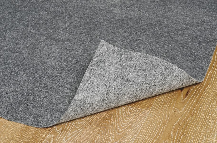 Ribbed Smoke Grey Indoor/Outdoor Area Rug