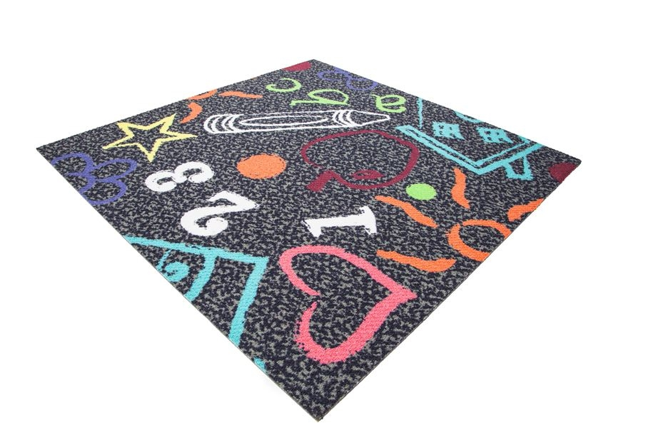 Joy Carpets Kid's Art Carpet Tile