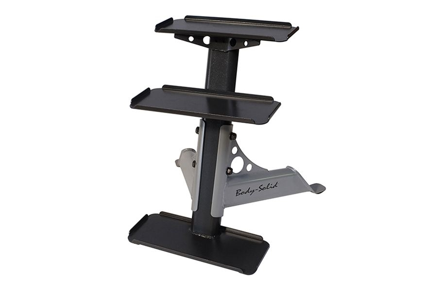 Body-Solid 3-Tier Kettlebell Rack
