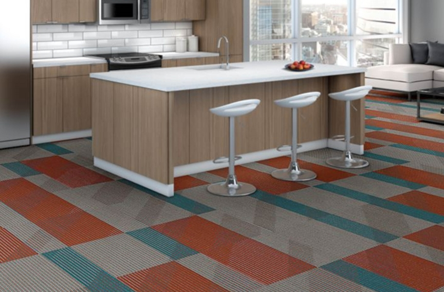 Shaw Block By Block Carpet Tiles - Opposites Attract