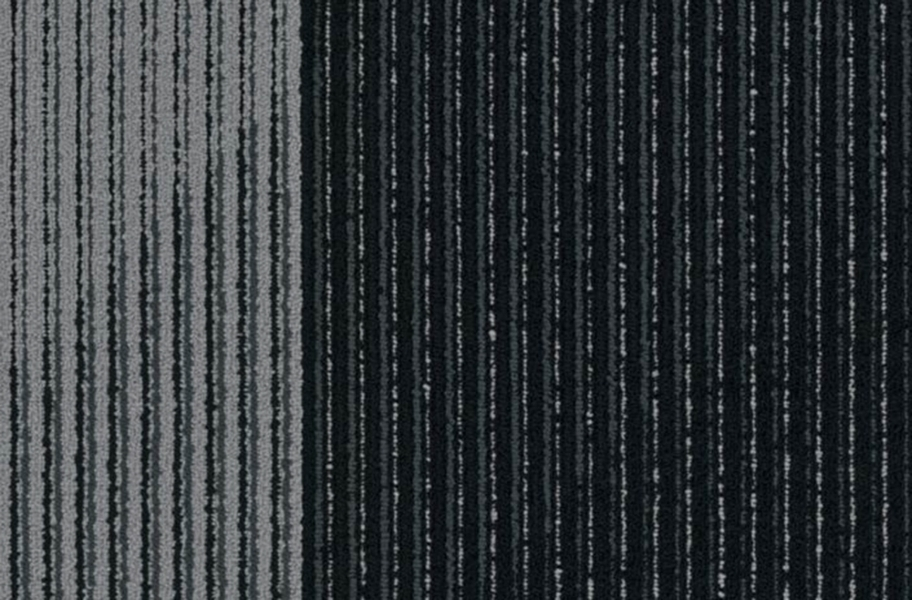 Shaw Block By Block Carpet Tiles - In the Black